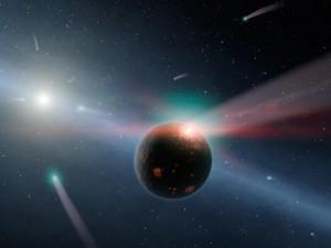 comet-bombardment